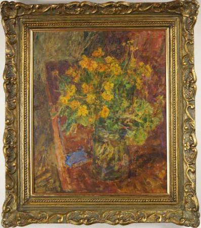 "Eugeniusz Eibisch ""Kwiaty"