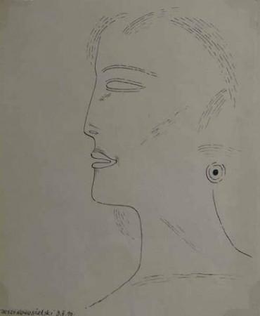 """Nowosielski Jerzy """"Portret"""