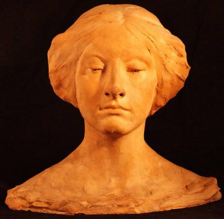 Konstanty Laszczka Głowa kobiety 1