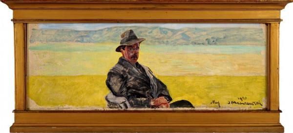 5. Jacek Malczewski Portret męski 1920 r DSC06402