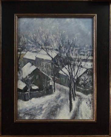 Schinagel Emil Pejzaż zimowy r