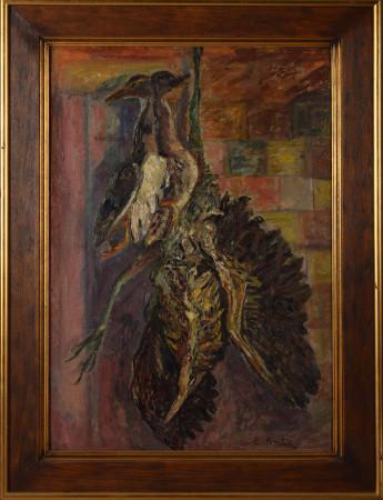 """Emil Krcha """"Martwa natura z bąkiem"""