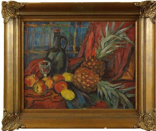 Epstein Henryk Martwa natura z ananasami r