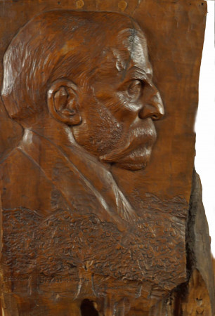 Laszczka Konstanty Portret Józefa Brzezińskiego