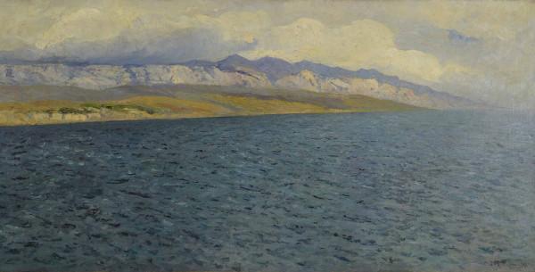 Lea von Littrow Pejzaż z Dalmacji br