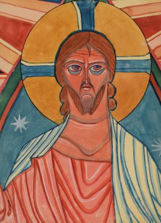 Nowosielski Jerzy Chrystus 1 br