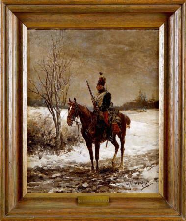 1. Jan Chełmiński Huzar napoleoński r DSC07176
