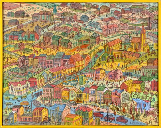 33. Edward Dwurnik Plan miasta 1974 r DSC_0336