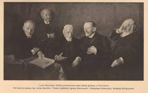 Lentz Stanisłąw, Ostatni profesorowie, s.14