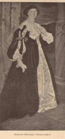 Dubiński Romuald, Dama w czerni, s.14