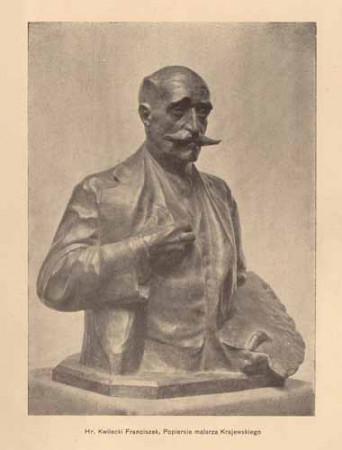 Kwilecki Franciszek, Popiersie Krajewskiego, s.14