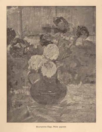 Boznańska Olga, Róże pąsowe, s.14