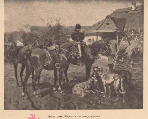 Brandt Józef, Dojeżdżacz oczekujacy panów, s.14