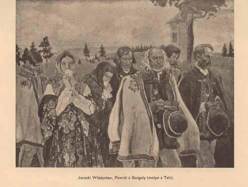 Jarocki Władysław, Powrót z Golgoty, s.14