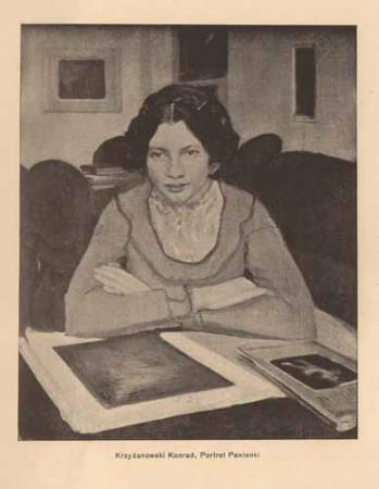 Krzyżanowski Konrad, Portret panienki, s.14