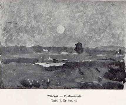 Stanisławski Jan, Wieczór-Pustowarnia