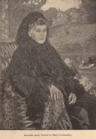 Mehoffer Józef, Portret hr. Pusłowskiej, s.14