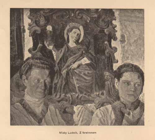 Misky Ludwik, Z feretronem, s.14