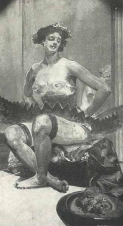 Jacek Malczewski Bez tytułu