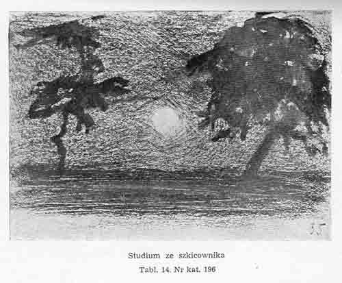 Stanisławski Jan, Studium ze szkicownika 2