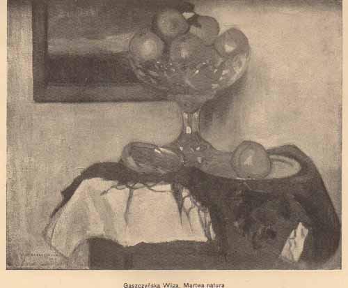 Gaszczyńska Wiga, Martwa natura, s.14