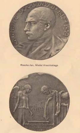 Raszka Jan, Medal Krasińskiego, s.14