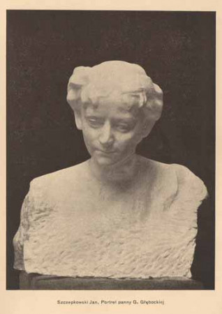Szczepkowski Jan, Portret p. Głębockiej, s.14