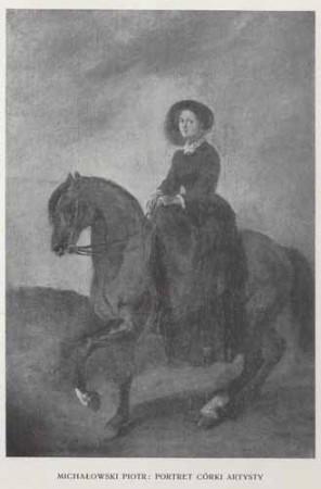 Michałowski Piotr Portret córki artysty, 100 lat malarstwa