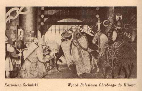 Sichulski Kazimierz, Wjazd Bolesława, s.29