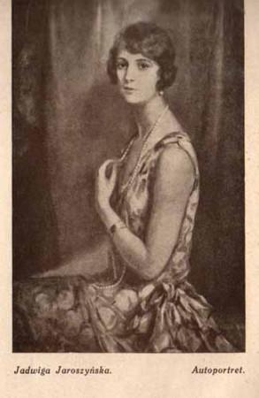 Jaroszyńska Jadwiga, Autoportret, s.29
