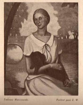 Marczewski Tadeusz, Portret, s.29