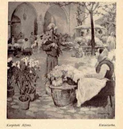 Karpiński Alfons, Kwiaciarka, s.27