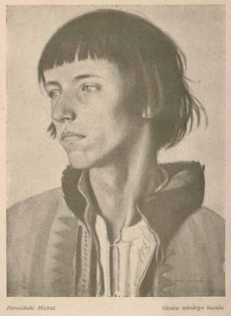 Boruciński Michał Głowa młodego hucuła, s,26