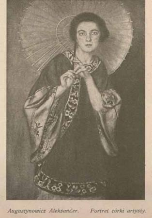 Augustynowicz Aleksander Portret córki artysty, s.26