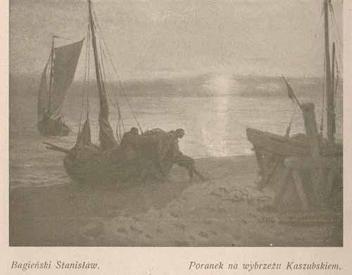 Bagieński Stanisław Poranek na wybrzeżu kaszubskim, s.26