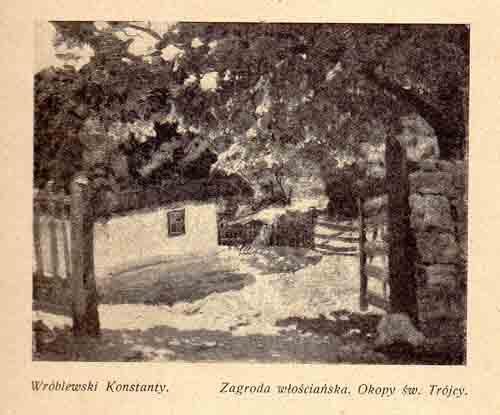 Wróblewski Konstanty, Zagroda, s.27