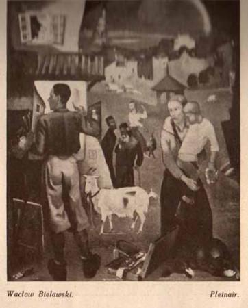 Bielawski Wacław, Pleinair, s.29