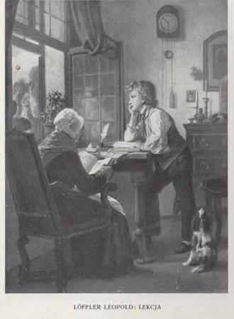 Loffler Leopold Lekcja, 100 lat malarstwa