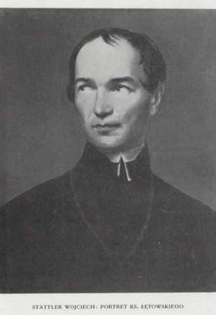 Stattler Wojciech Portret ks. Łętowskiego, 100 lat malarstwa