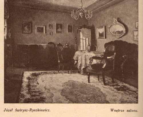 wirysz-Ryszkiewicz Józef, Wnętrze salonu, s.29