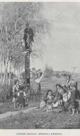 Lipiński Hipolit Niedziela kwietna, 100 lat malarstwa