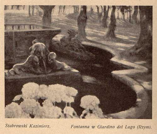 Stabrowski Kazimierz, Fontanna, s.27