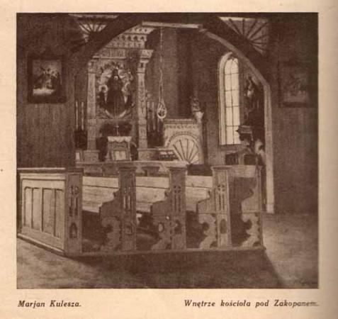 Kulesza Marian, Wnętrze, s.29