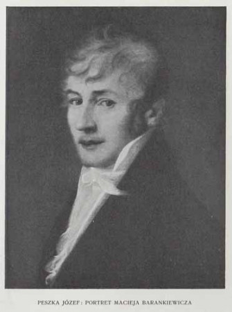 Peszka Józef Portret Macieja Barankiewicz, 100 lat malarstwa