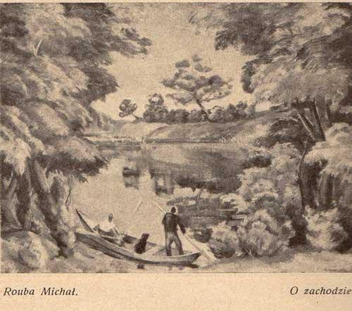 Rouba michał, O zachodzie, s.27