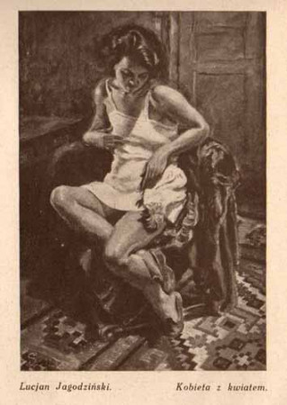 Jagodziński Lucjan, Kobieta z kwiatem, s.29