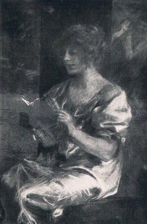 Axentowicz Teodor Zaczytana, monografia
