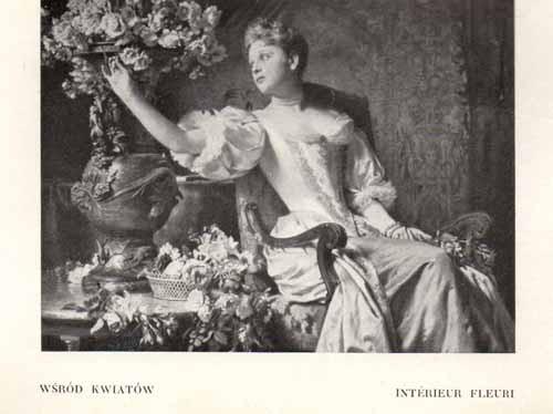Czachórski Władysław, Wśród kwiatów