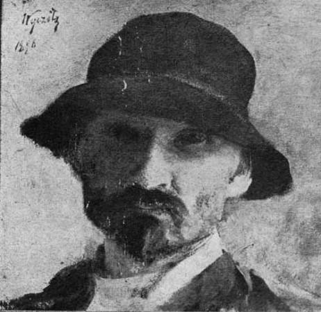 Wyczółkowski Leon, Portret własny artysty