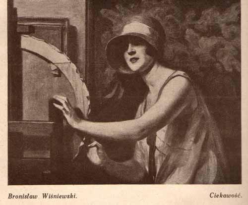 Wiśniewski Bronisław, Ciekawość, s.29